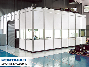 Machine Enclosure - PortaFab Modular Cleanrooms