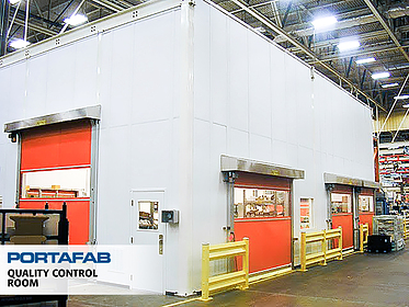Quality Control Room - PortaFab Modular Cleanrooms