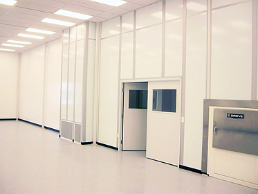 Cleanroom for Medical Device Packaging - PortaFab Modular Building Systems
