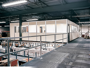 Mezzanine Office - PortaFab Modular Building Systems