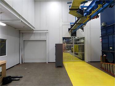 Environmentally Controlled Paint Finishing Enclosure