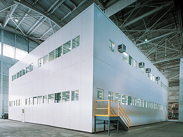 Two-Story Modular Office - PortaFab Modular Building Systems