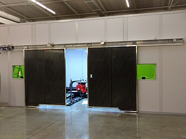 Laser Room with Doors for Customer Laservision - PortaFab