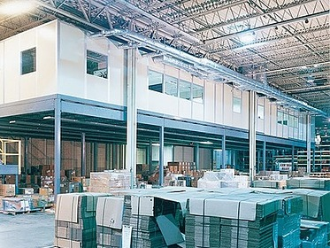 modular factory offices, modular inplant offices, modular office walls, modular warehouse buildings, modular factory buildings