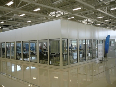 glass wall partitions for volkswagen academy portafab