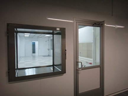 PortaFab | Cleanroom Pass Through Air Locks / Chambers