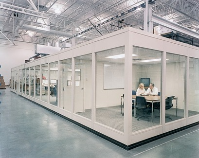 Portafab modular conference rooms for Prefab room