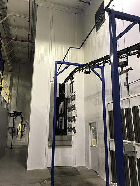 Powder Coating Vs Painting >> PortaFab Cleanrooms | Paint System Enclosures