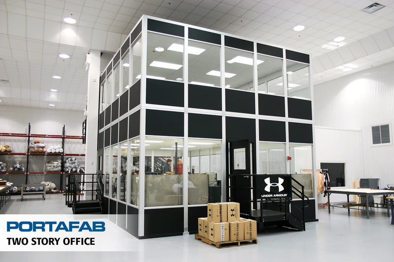 Modular Office Partitions ~ Portafab modular warehouse offices inplant