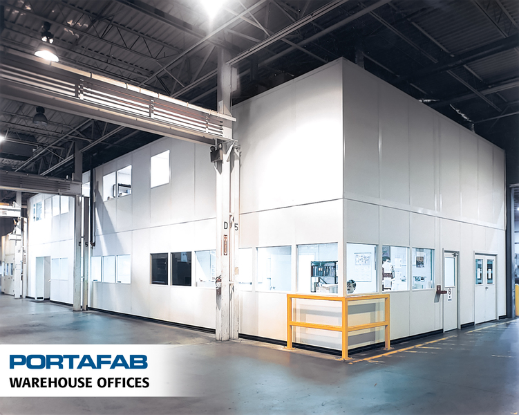 Warehouse Offices   PortaFab Modular Buildings