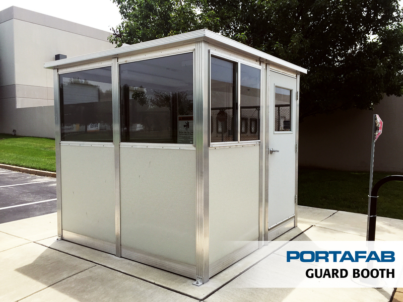 Guard shack enclosures prefab security