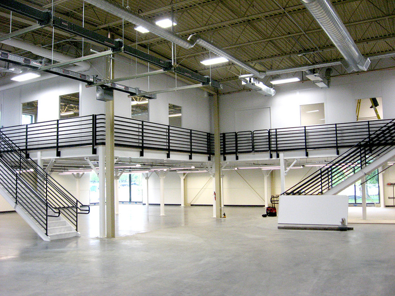 PortaFab Industrial Mezzanines and Steel Mezzanine Floors