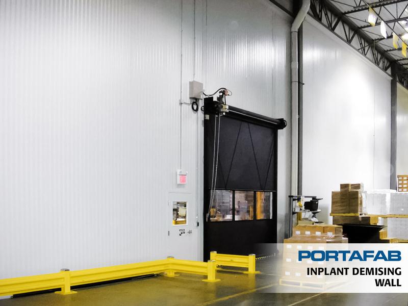 Inplant Demising Wall   PortaFab Modular Wall Partitions U0026 Demising Walls